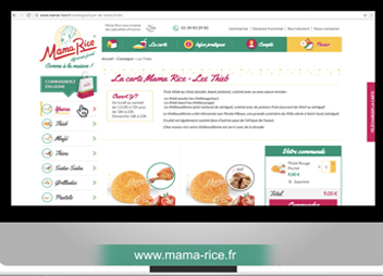 Mama Rice Animation Site Web